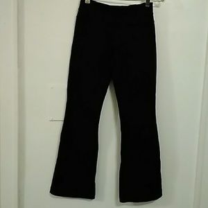 Lululemon Black Yoga Pants Size 4